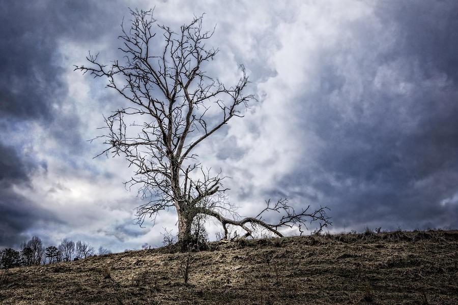 Appalachia Photograph - Overlook by Debra and Dave Vanderlaan