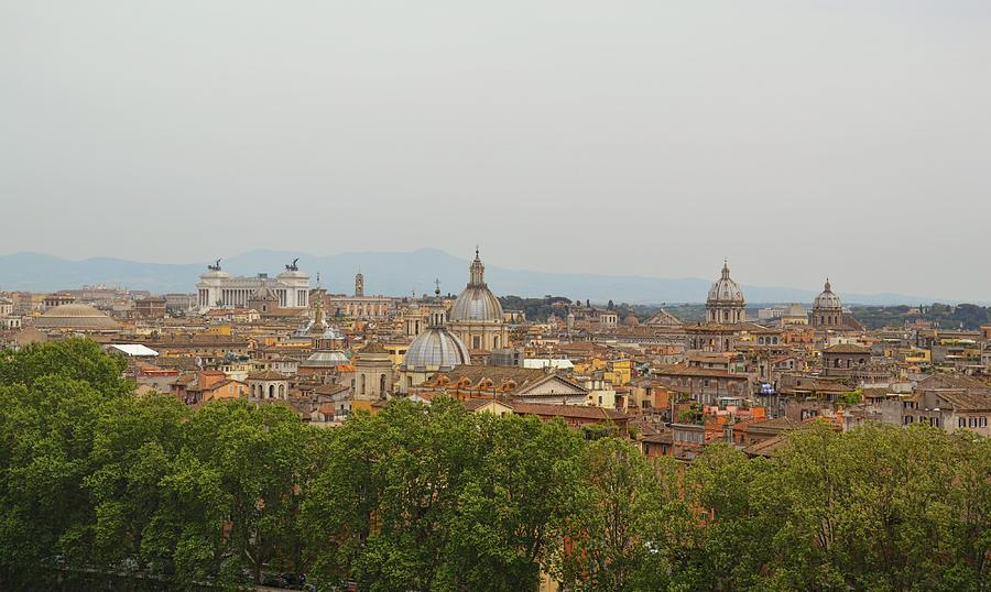 Italy Photograph - Overlooking Rome by JAMART Photography