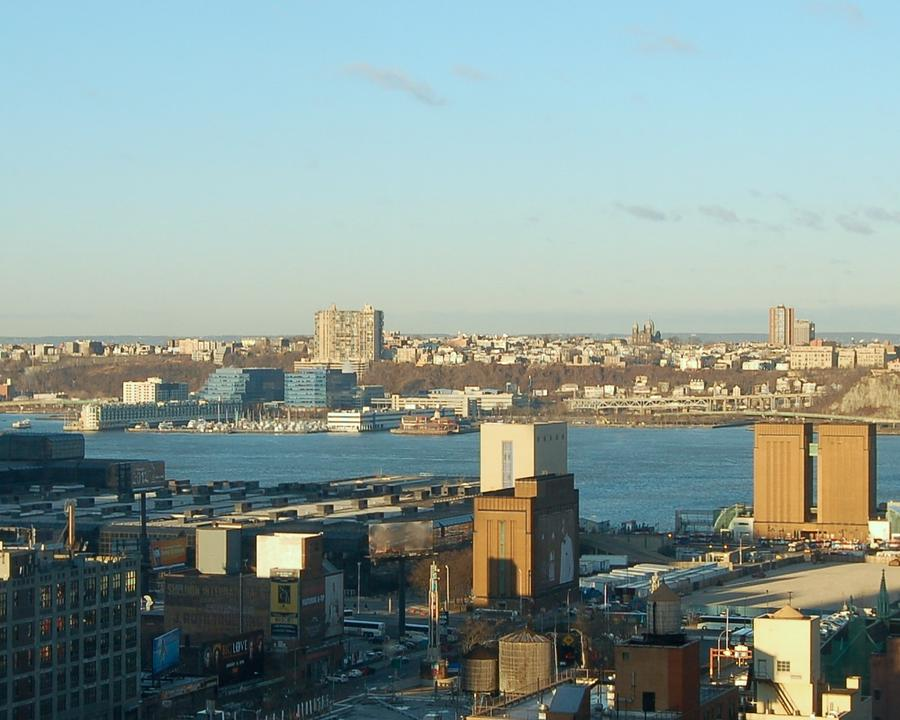 Hudson River Photograph - Overlooking The Hudson River From 42nd Street II by Susan Heller