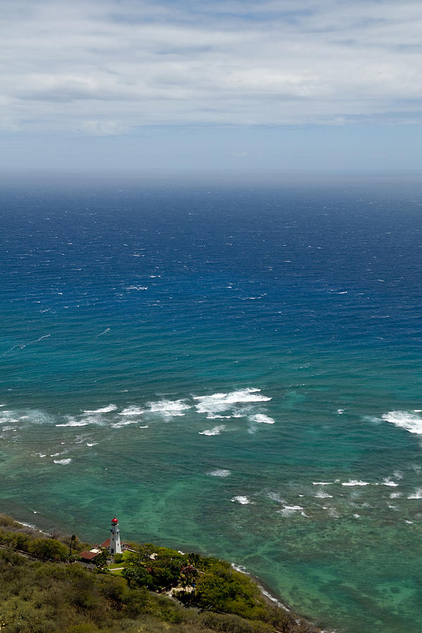 Hawaii Photograph - Overlooking The Pacific by Colleen Joy