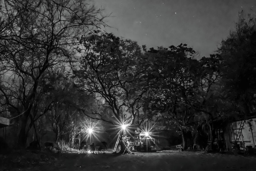 Overnight camp at The Mango Farm in Mozambique by Gareth Pickering