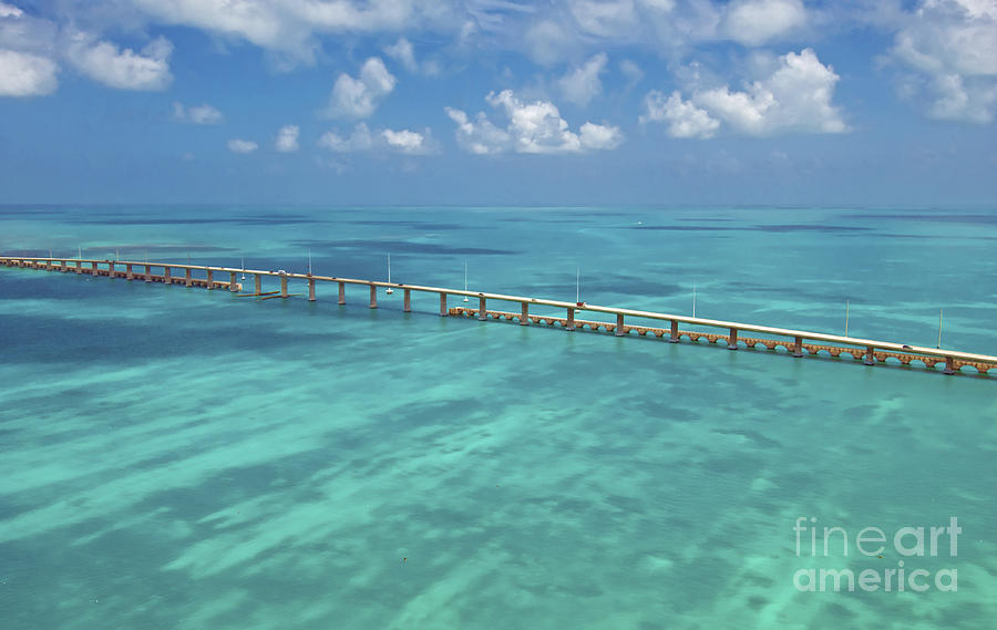 Florida Photograph - Overseas Highway by Patrick M Lynch