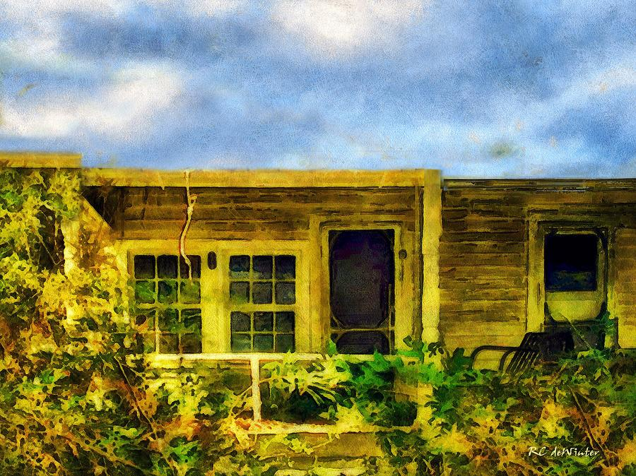 Landscape Painting - Overtaken by RC deWinter