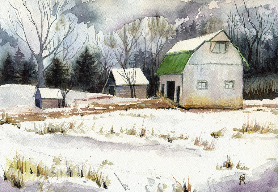 Owen County Winter by Katherine Miller