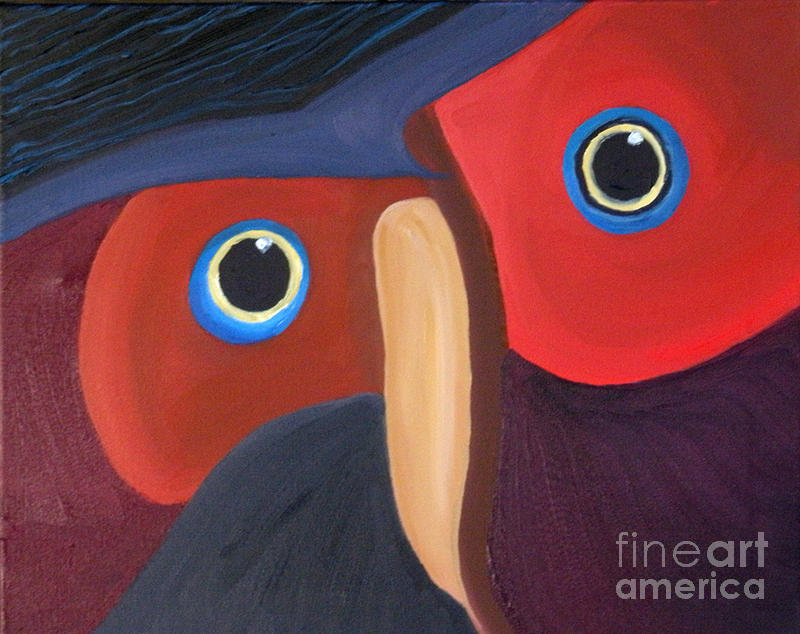 Owl Painting - Owl - Sold by Paul Anderson