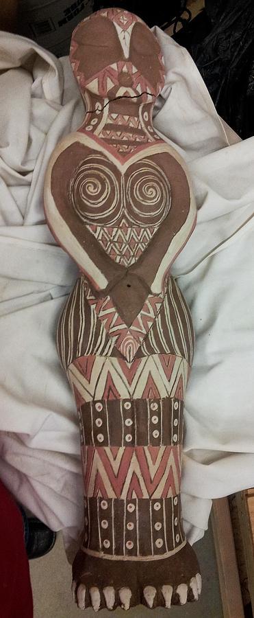 Owl Goddess Oops by Kristen R Kennedy