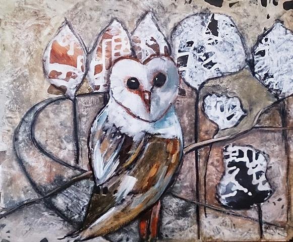 Owl by Kathy  Karas