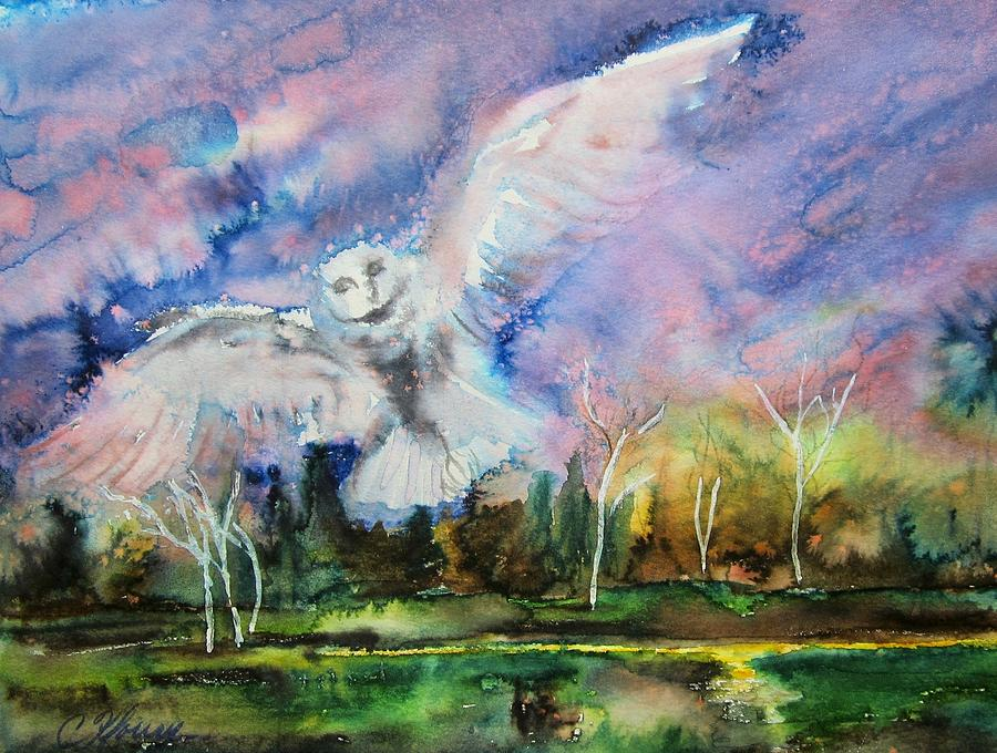 Owl Spirit by Christine Kfoury