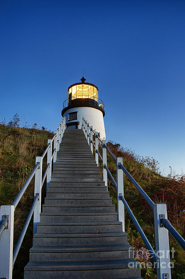Maine Photograph - Owls Head Lighthouse by John Greim