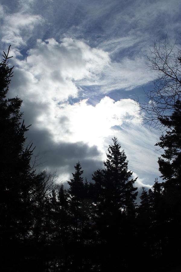 Landscape Photograph - Owls Head Sky by Doug Mills