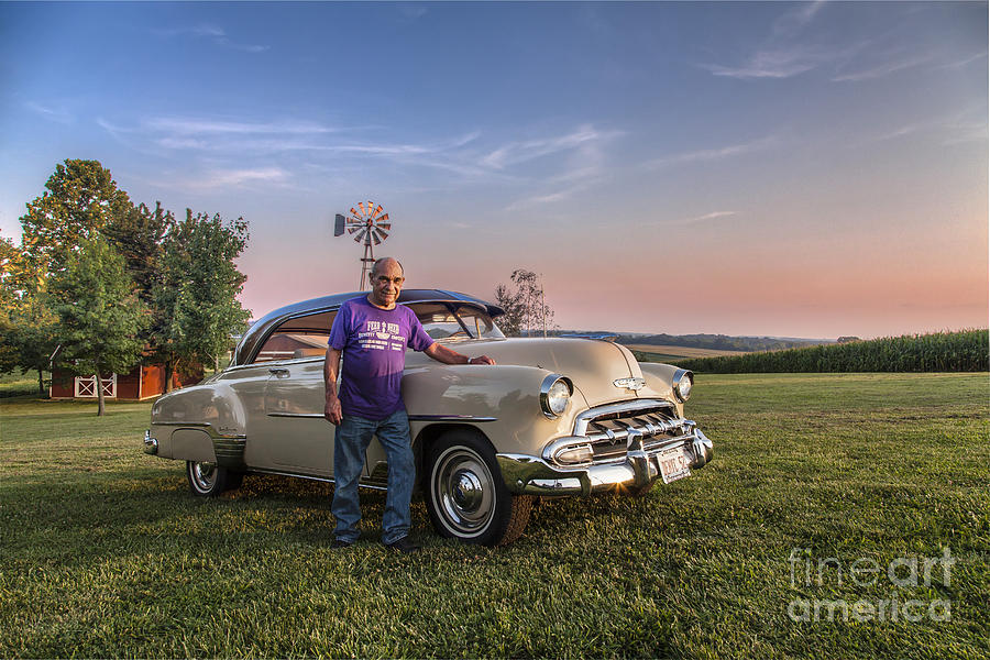 2015 Photograph - Owner And Restorer by Larry Braun