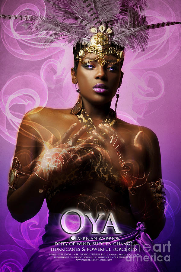 Oya Photograph by James C Lewis