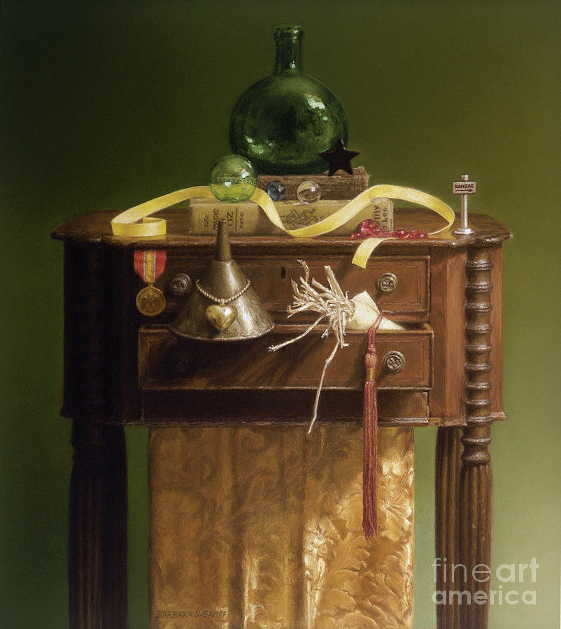 Still Life Painting - Oz Revisited by Barbara Groff
