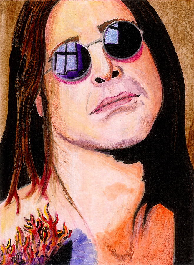 Ozzy Painting by Charles Merrill