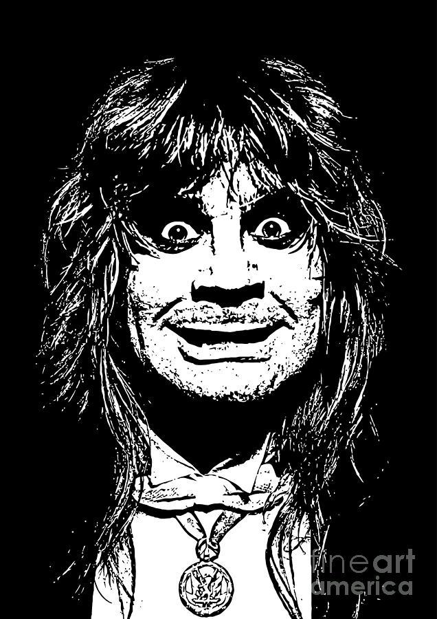 Ozzy Osbourne Digital Art - Ozzy No.01 by Caio Caldas