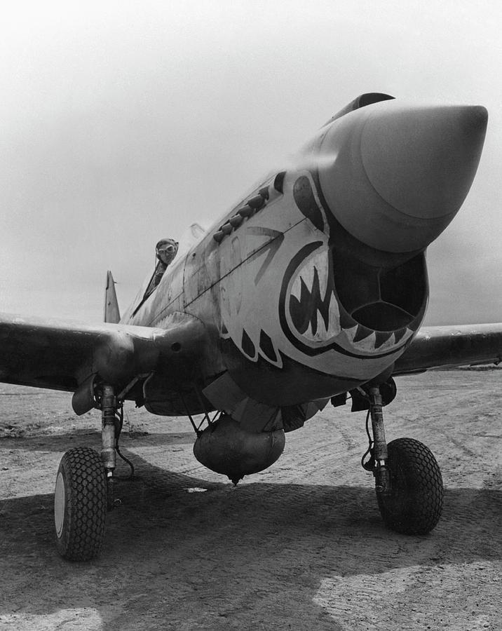 P-40 Warhawk - Flying Tiger Photograph