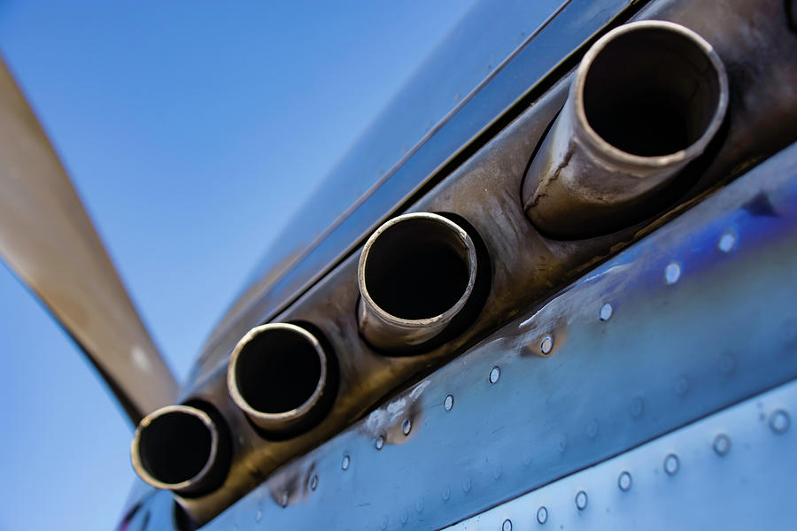 P-51D Mustang Exhaust by Printed Pixels
