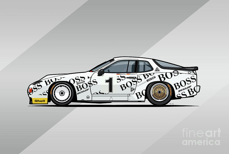 P 924 Carrera GTP/GTR Le Mans by Monkey Crisis On Mars