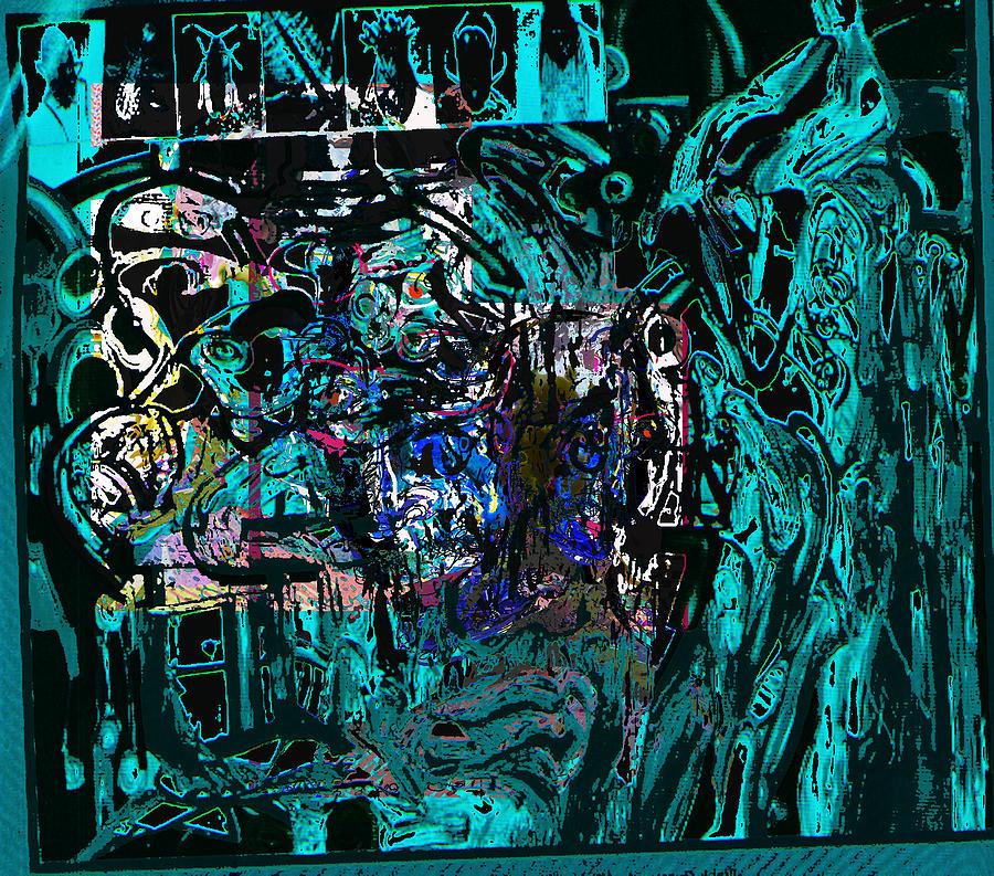 Abstract Painting - P0st War by Noredin Morgan