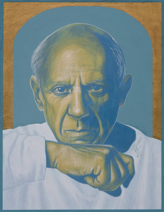 Picasso Painting - Pablo Picasso by Jovana Kolic
