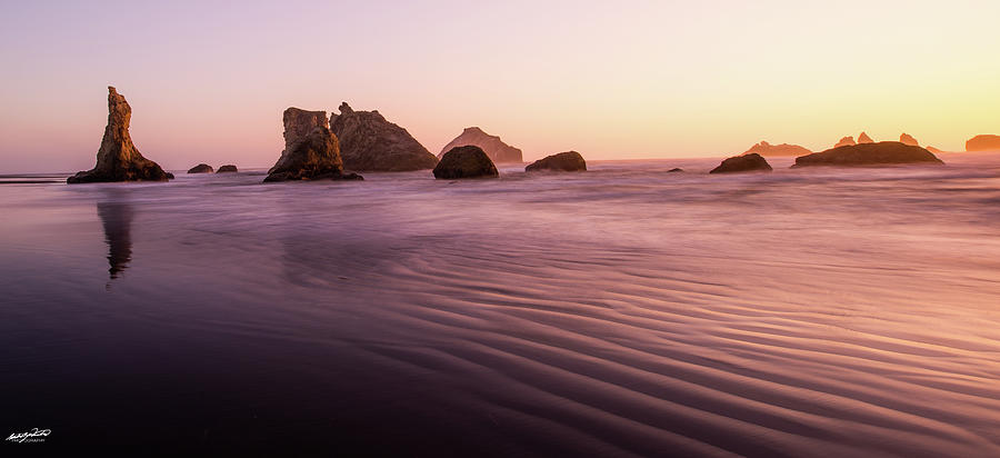 Pacific Photograph - Pacific Cathedral by Rowdy Winters