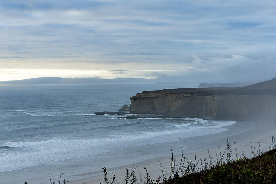 Dusk Photograph - Pacific Coast Inspiration by Diana Weir