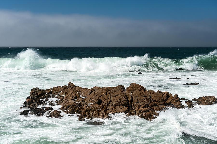 Surf Photograph - Pacific Coast by Wim Slootweg