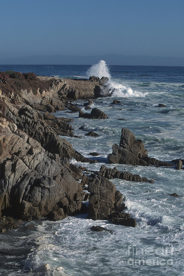 California Photograph - Pacific Grove Seascape by Stan and Anne Foster