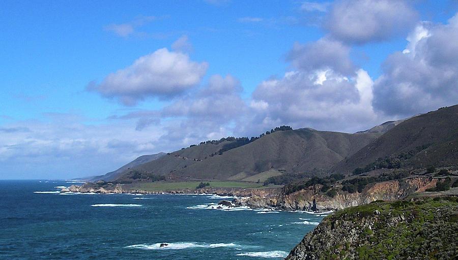 California Photograph - Pacific Hillside by Lea Rhea Photography