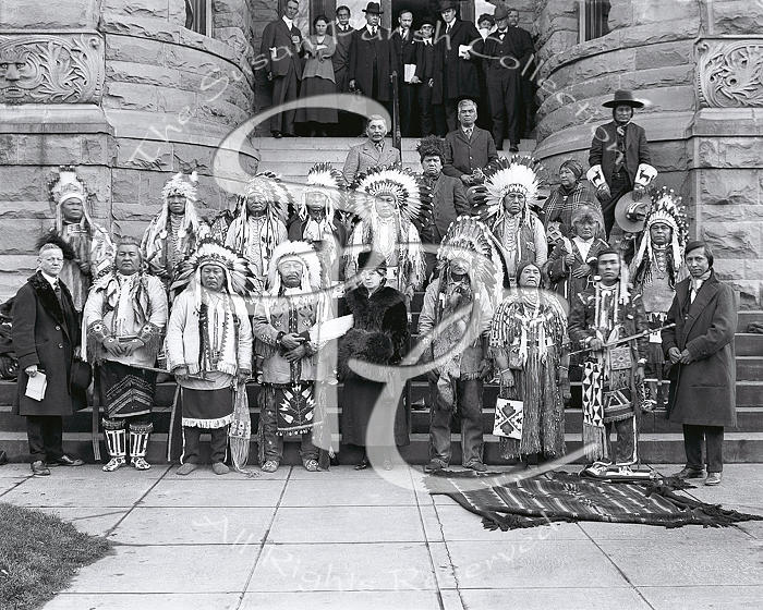 Pacific Northwest Tribal Leaders 1921 by Vibert Jeffers