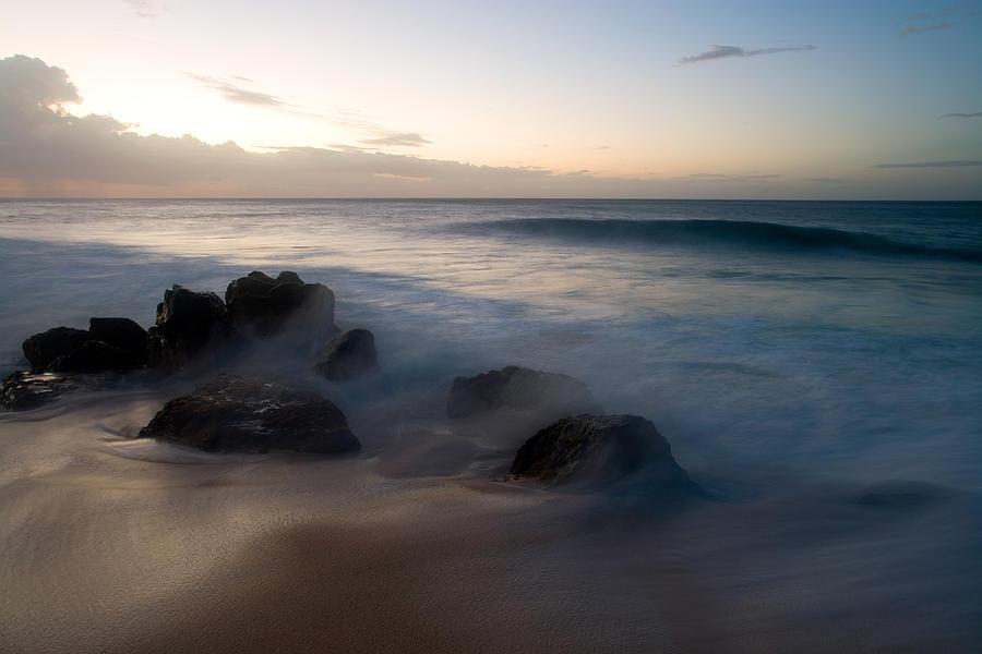 Ocean Photograph - Pacific Ocean Power - Hawaii by Brad Rickerby