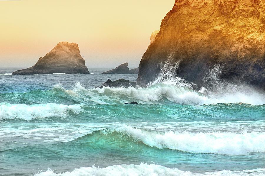 Pacific Sunrise Photograph