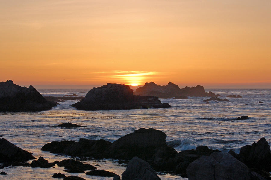 Pacific Photograph - Pacific Sunset by Pearson Photography