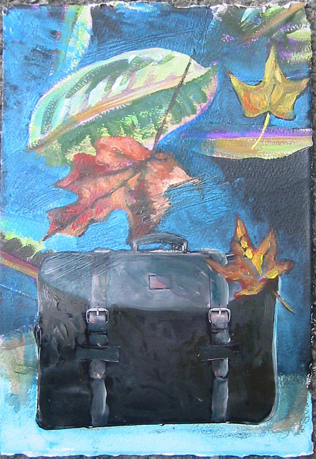 Suitcase Mixed Media - Packed Bag by Tilly Strauss