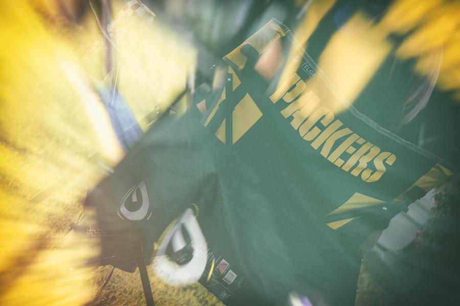 Packers Fan Photograph - Packers Fan by Marit Runyon
