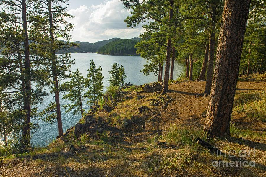 Pactola Lake Photograph - Pactola Lake South Dakota by Nikki Vig