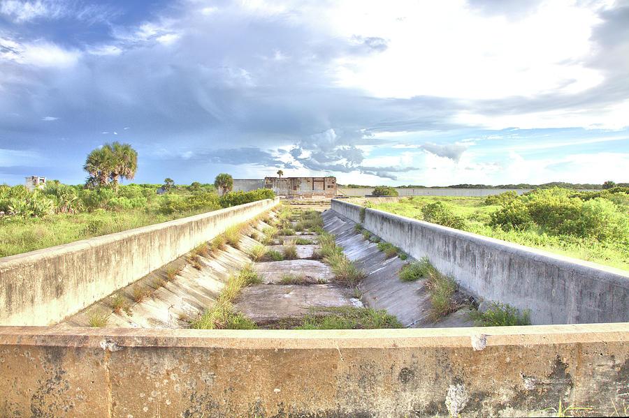 Pad 19 Water Cistern Photograph