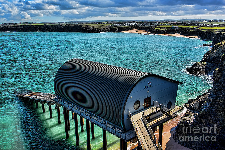 Padstow Lifeboat Station Photograph
