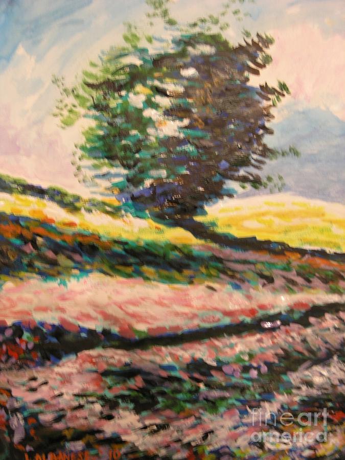 Paesaggio Painting - Paesaggio Madonita by Leonardo Albanese