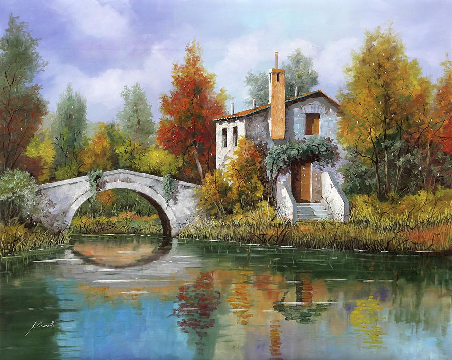 Paesaggio Pastellato Painting