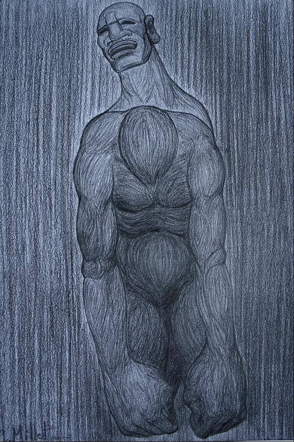 Allegory Drawing - Pain And Despair  by Cindy MILLET