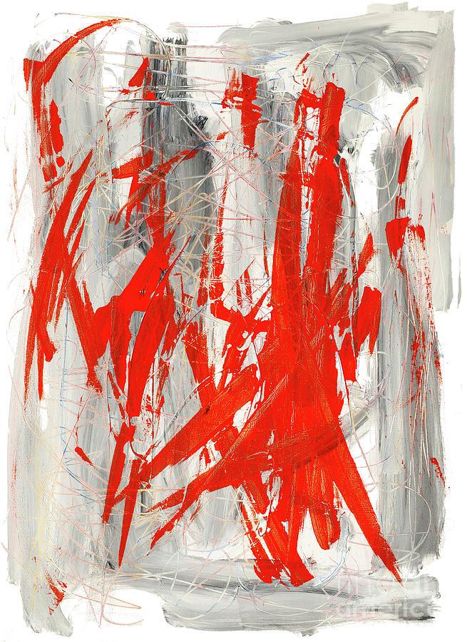 Pain Painting - Pain by Bjorn Sjogren