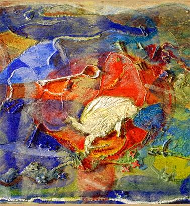 Abstract Paintings Painting - Pain by Mizanul Chowdhury