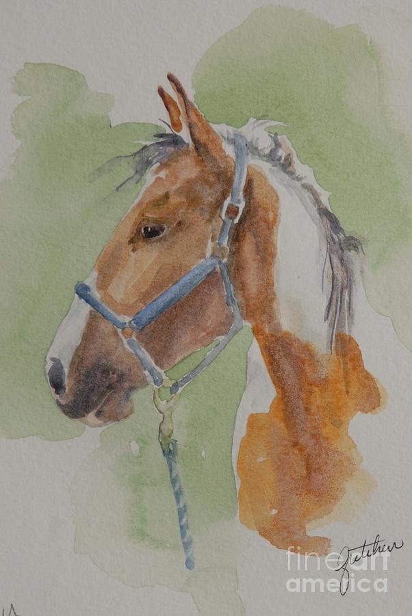 Horse Painting - Paint I by Gretchen Bjornson