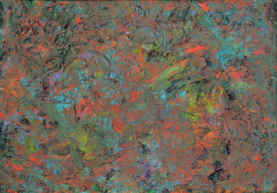 Abstract Painting - Paint Number 17 by James W Johnson