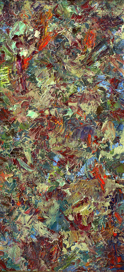 Abstract Painting - Paint Number 21 by James W Johnson