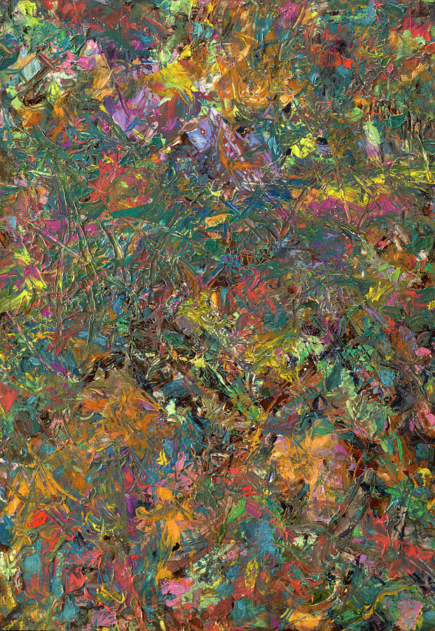 Abstract Painting - Paint Number 29 by James W Johnson