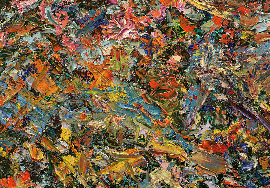 Abstract Painting - Paint Number 35 by James W Johnson