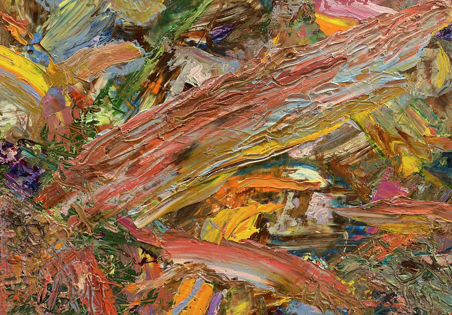 Abstract Painting - Paint number 41 by James W Johnson