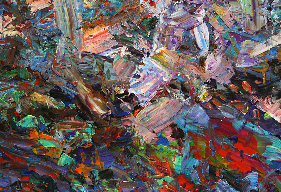 Abstract Painting - Paint Number 42-c by James W Johnson